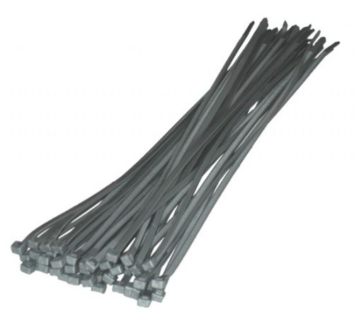 Toolzone Tools 40pc Silver Cable Ties